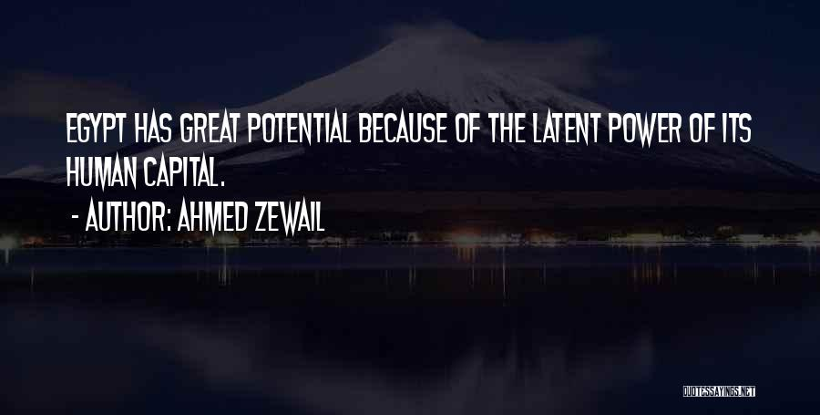 Latent Quotes By Ahmed Zewail