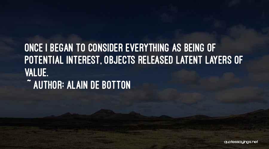 Latent Quotes By Alain De Botton