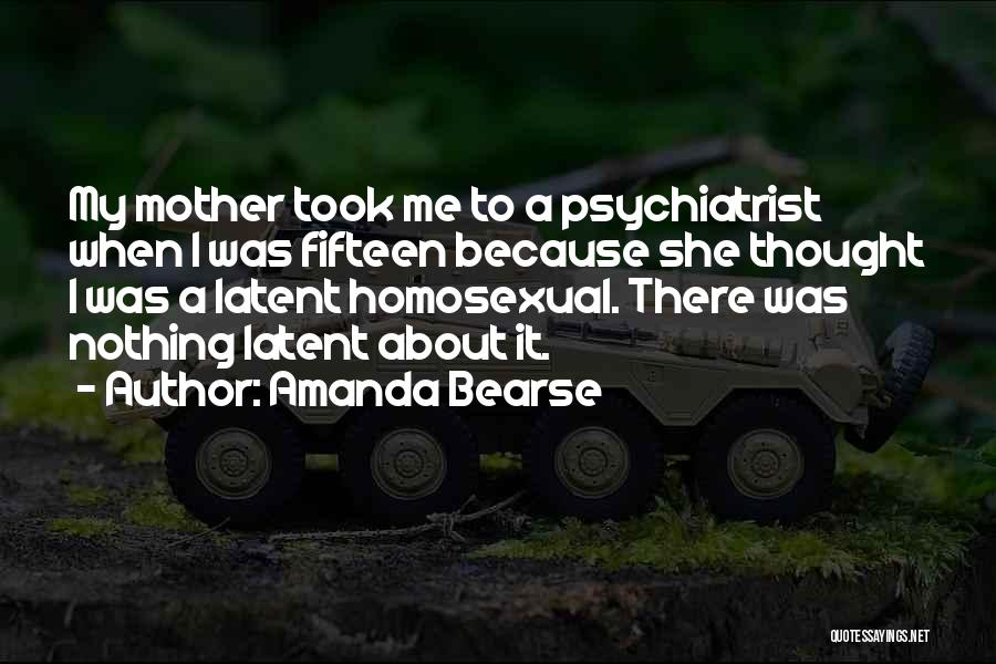 Latent Quotes By Amanda Bearse