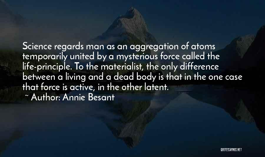 Latent Quotes By Annie Besant
