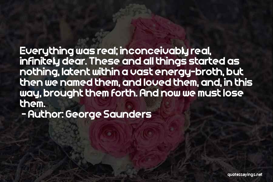 Latent Quotes By George Saunders