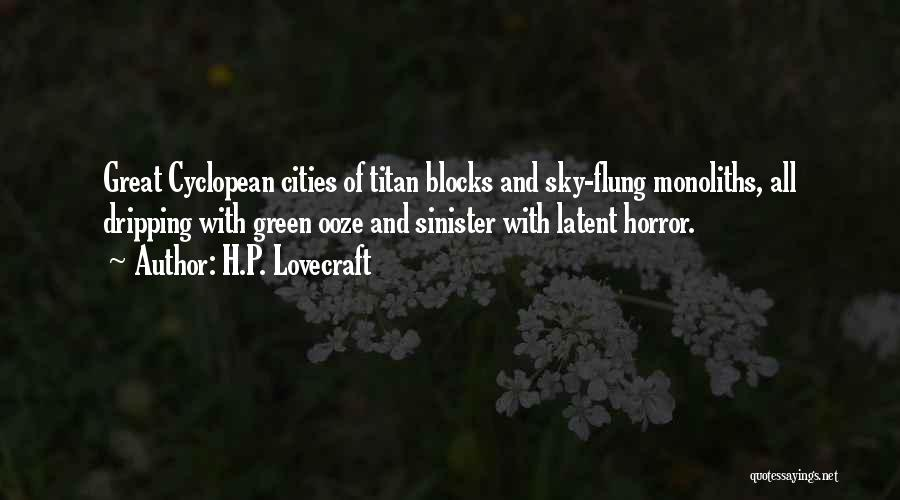 Latent Quotes By H.P. Lovecraft