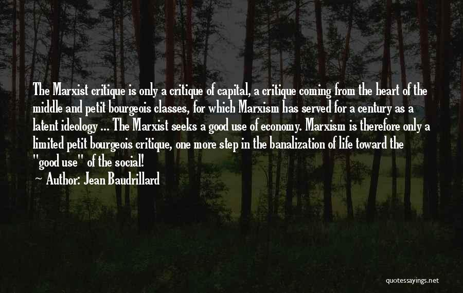 Latent Quotes By Jean Baudrillard