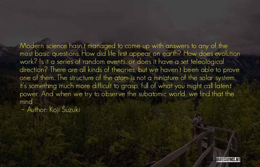 Latent Quotes By Koji Suzuki