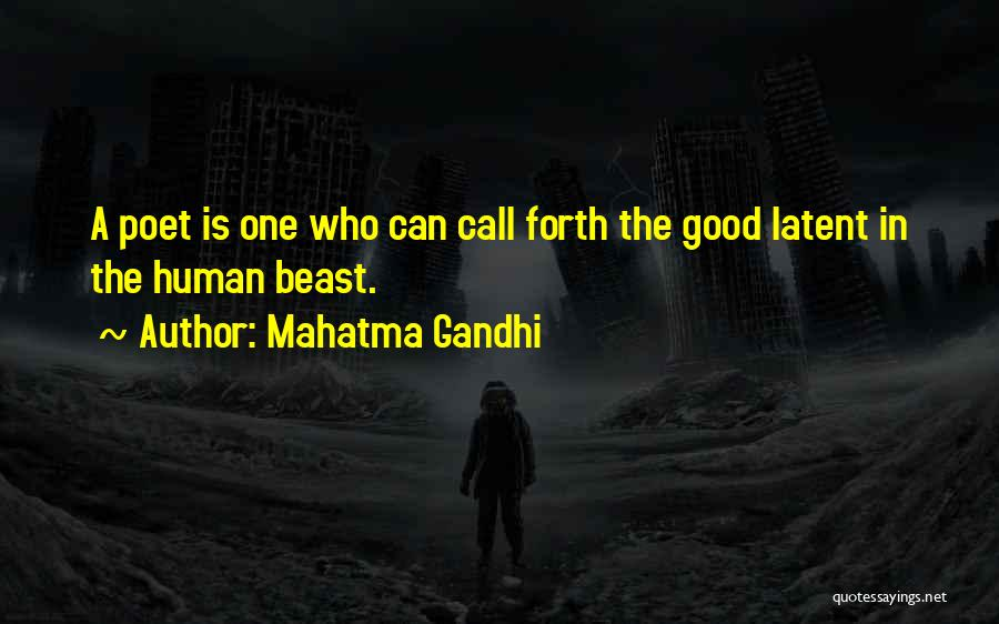 Latent Quotes By Mahatma Gandhi