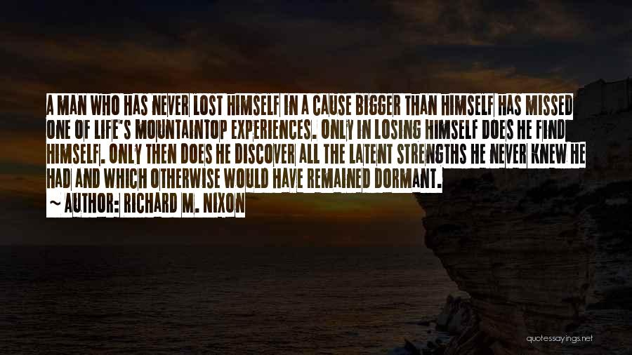 Latent Quotes By Richard M. Nixon