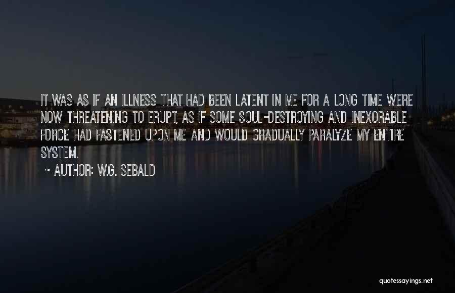 Latent Quotes By W.G. Sebald
