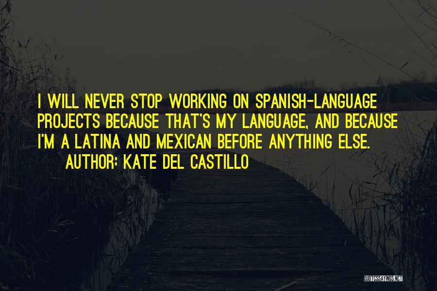 Latina Quotes By Kate Del Castillo