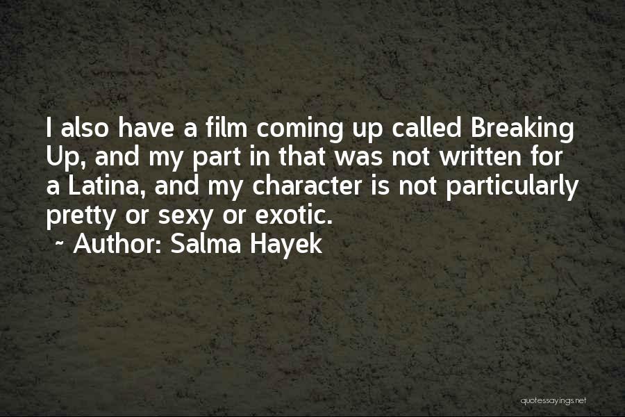 Latina Quotes By Salma Hayek