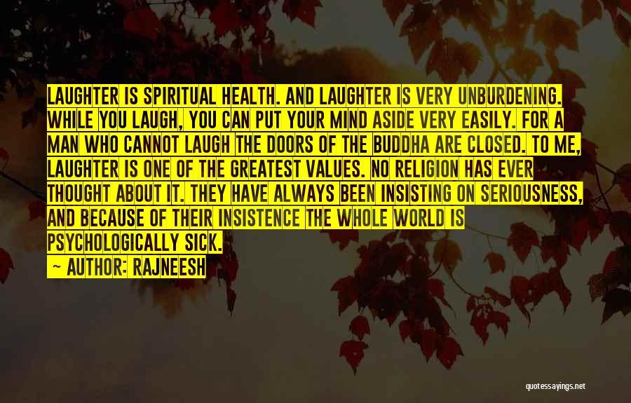 Laugh Quotes By Rajneesh