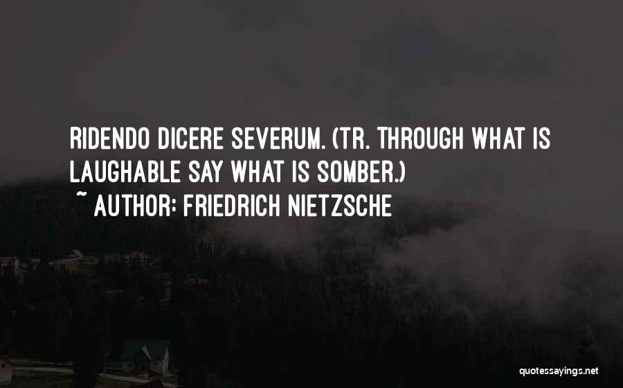 Laughable Quotes By Friedrich Nietzsche