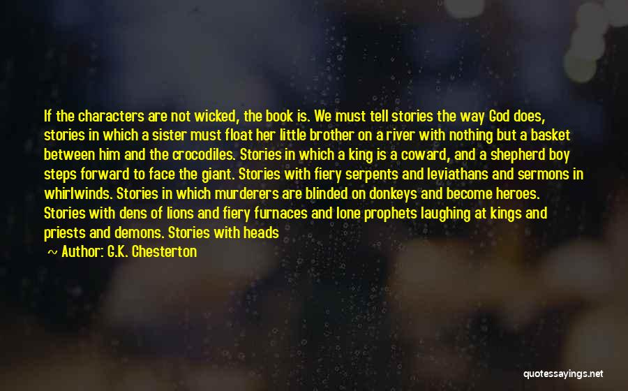 Laughing With Your Sister Quotes By G.K. Chesterton