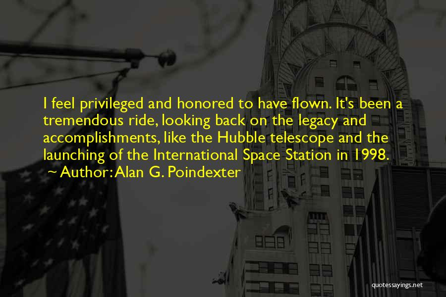 Launching Quotes By Alan G. Poindexter