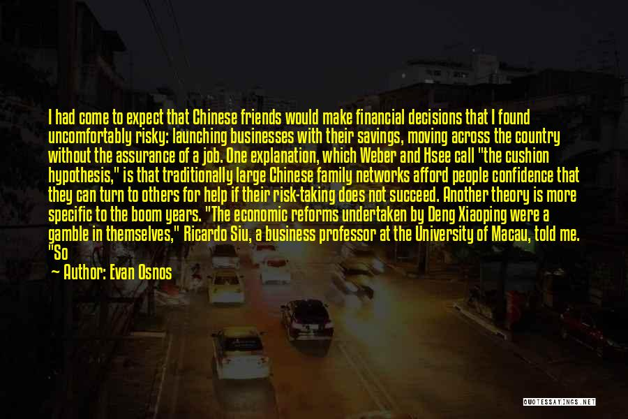 Launching Quotes By Evan Osnos