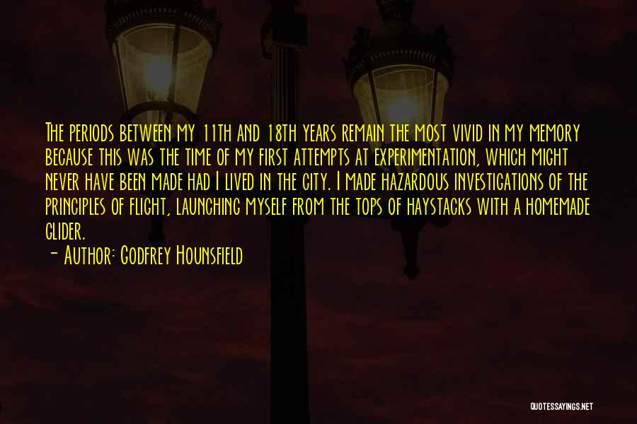 Launching Quotes By Godfrey Hounsfield
