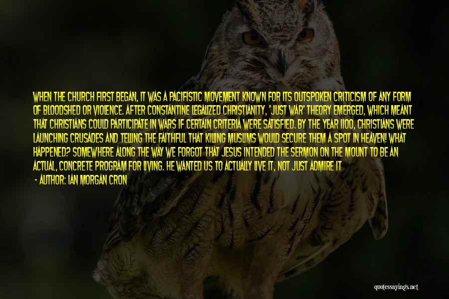 Launching Quotes By Ian Morgan Cron