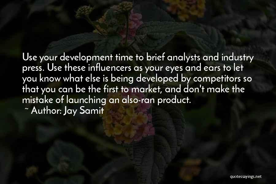 Launching Quotes By Jay Samit