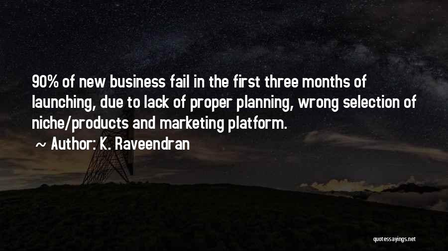 Launching Quotes By K. Raveendran