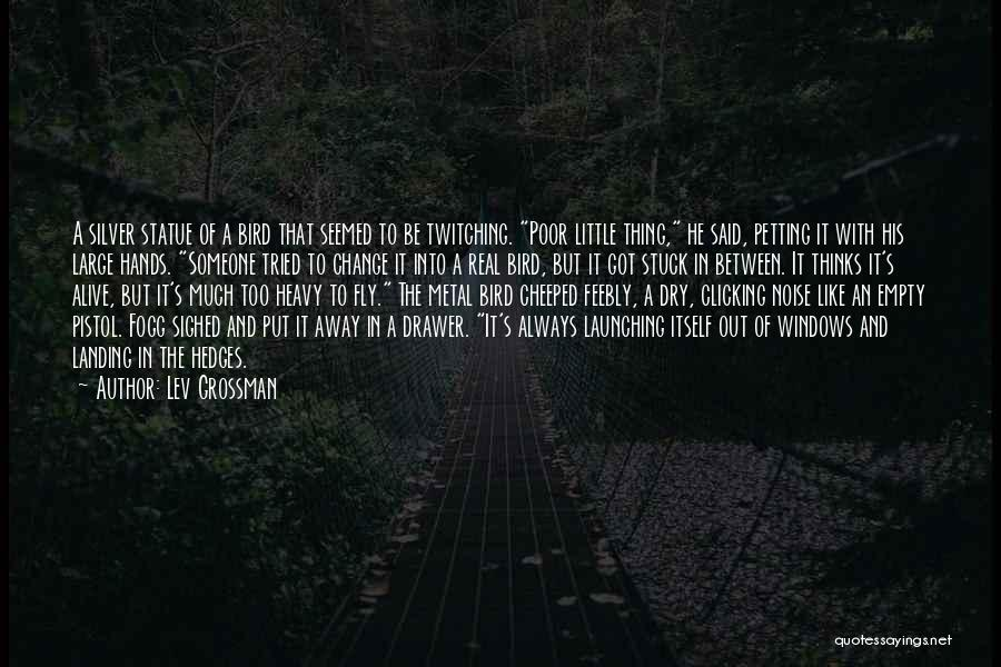 Launching Quotes By Lev Grossman