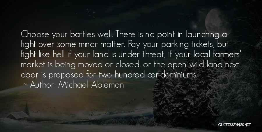 Launching Quotes By Michael Ableman
