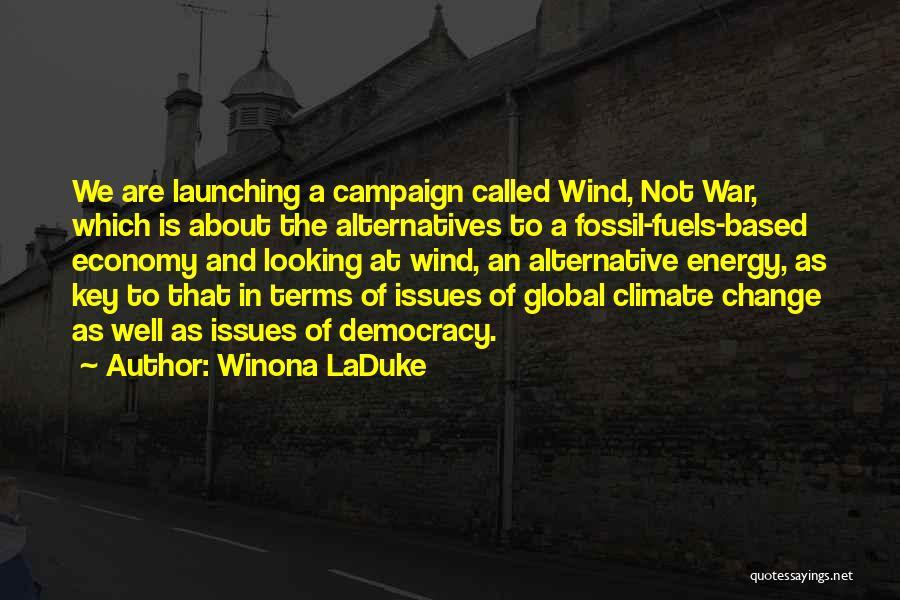 Launching Quotes By Winona LaDuke