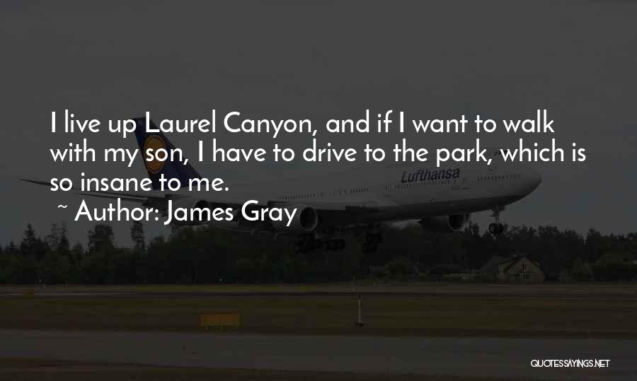 Laurel Canyon Quotes By James Gray