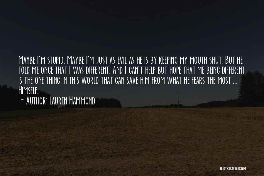 Lauren Hammond Quotes 1399285