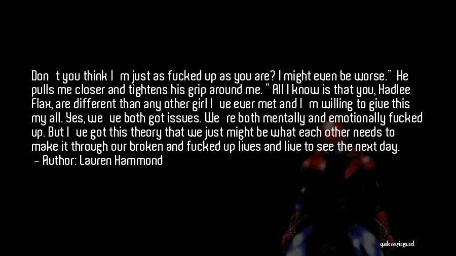 Lauren Hammond Quotes 1491125