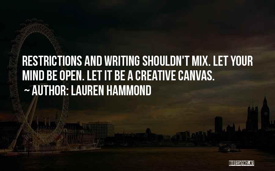 Lauren Hammond Quotes 310435