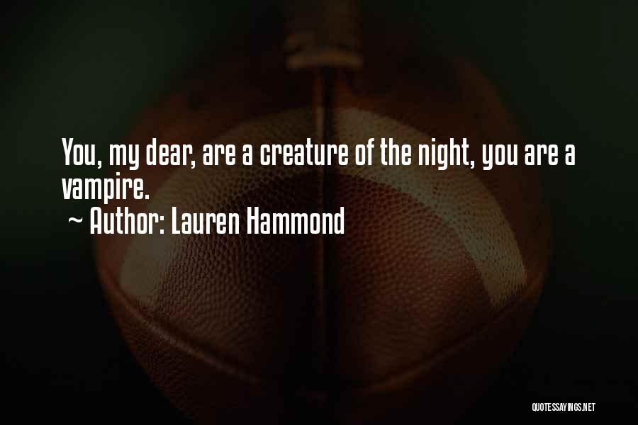 Lauren Hammond Quotes 617039