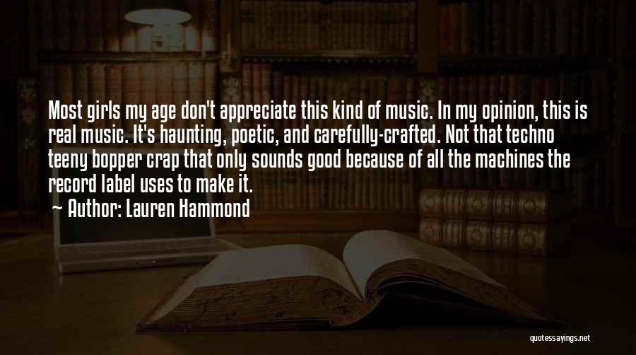 Lauren Hammond Quotes 626863