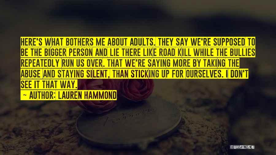 Lauren Hammond Quotes 861482