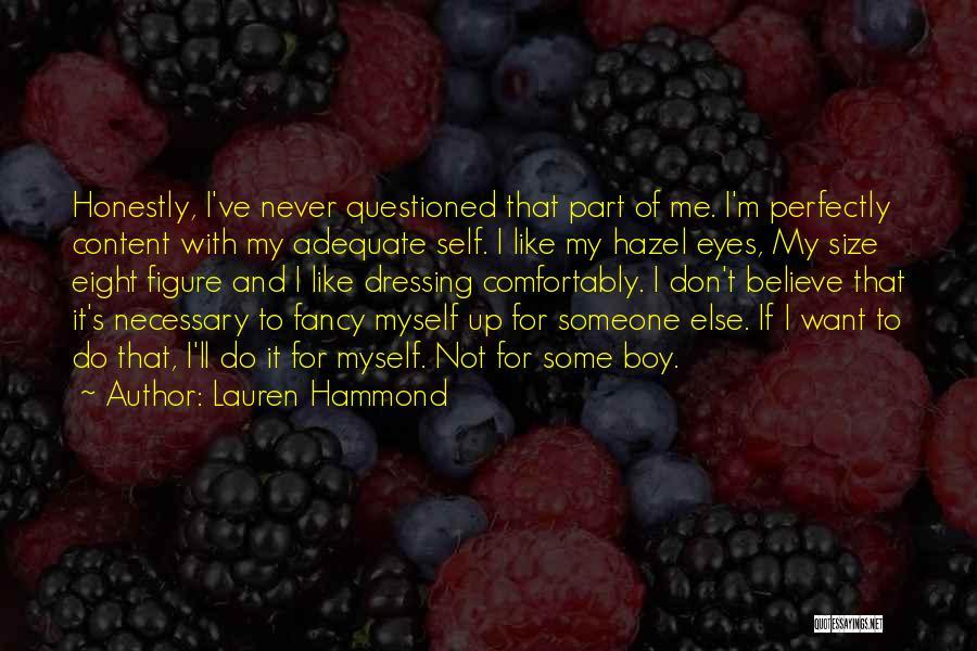 Lauren Hammond Quotes 91990