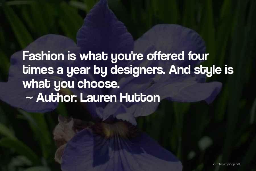 Lauren Hutton Quotes 1362471