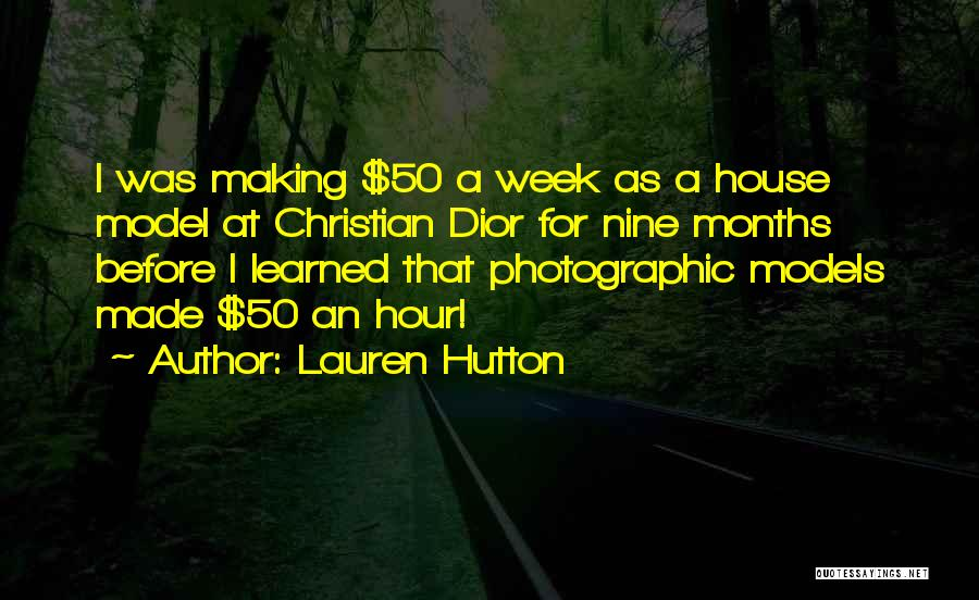 Lauren Hutton Quotes 1643560