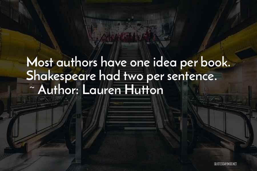 Lauren Hutton Quotes 1650777