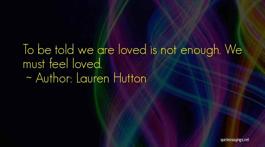 Lauren Hutton Quotes 2029930