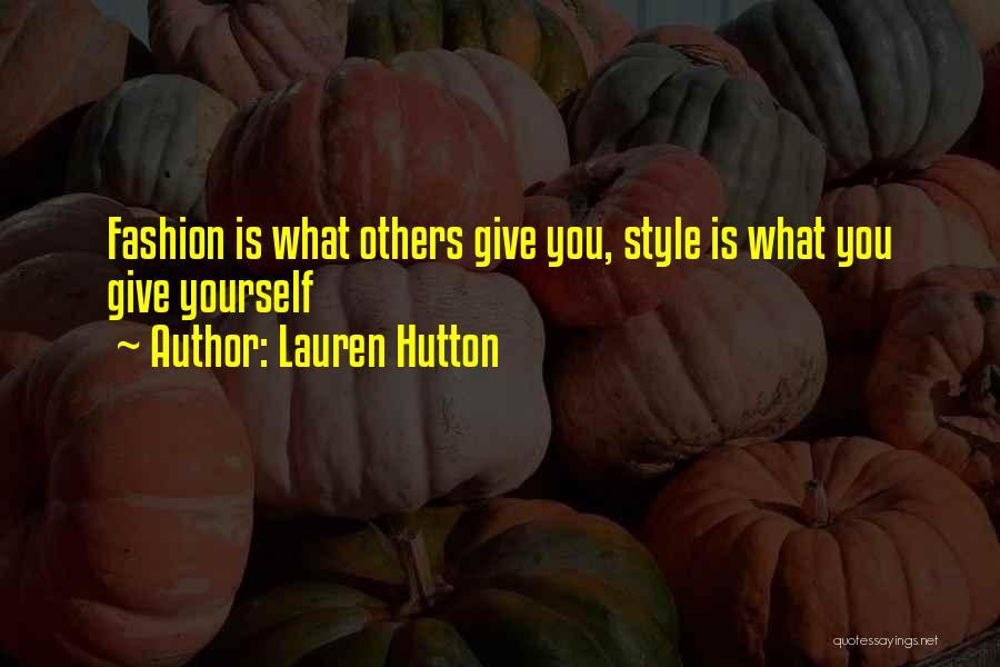 Lauren Hutton Quotes 2151996