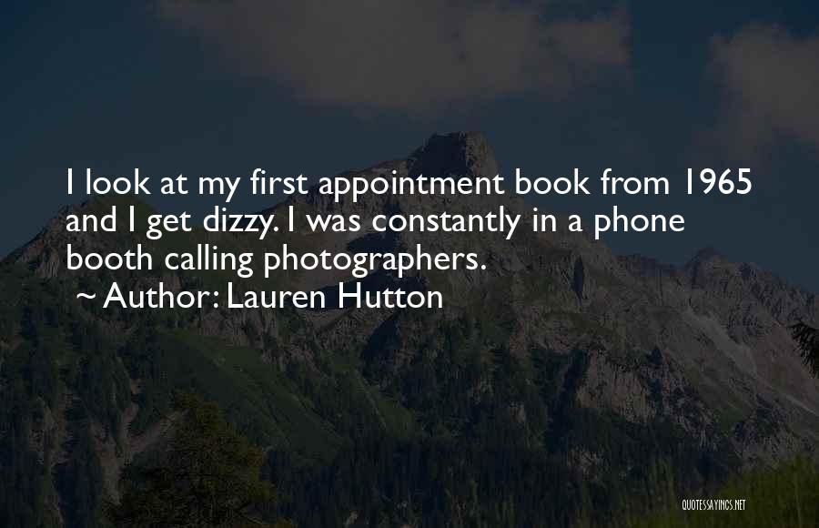 Lauren Hutton Quotes 469327