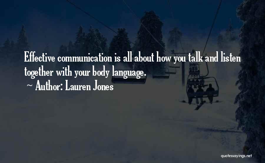 Lauren Jones Quotes 2073565