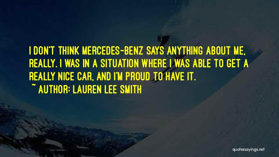 Lauren Lee Smith Quotes 1900412