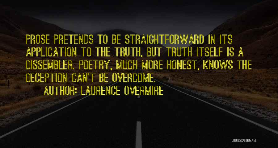 Laurence Overmire Quotes 498734