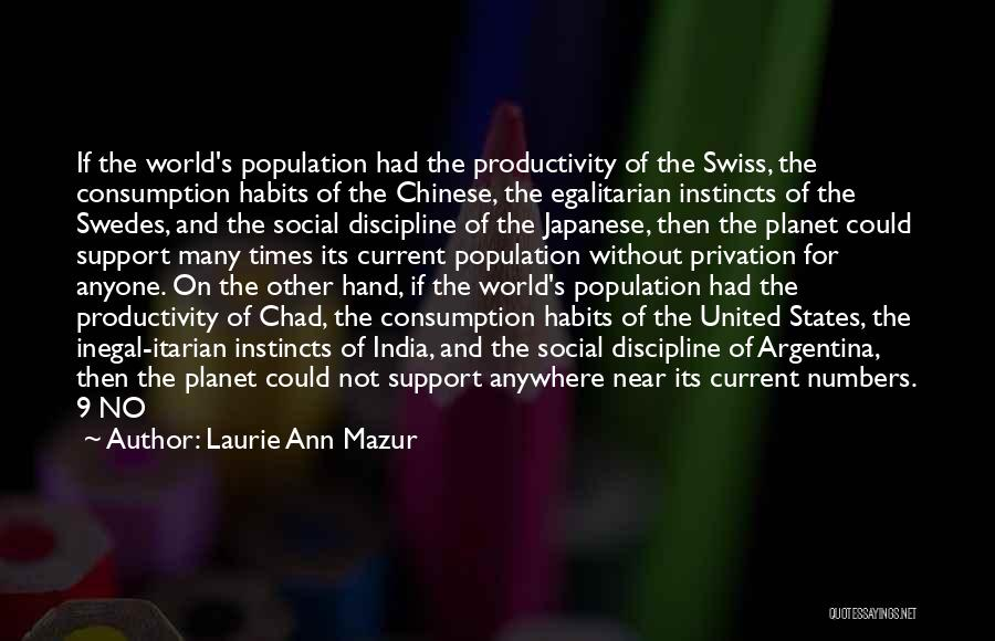Laurie Ann Mazur Quotes 846777