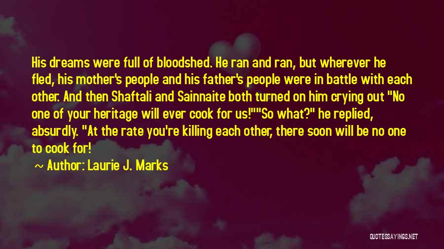 Laurie J. Marks Quotes 1729080