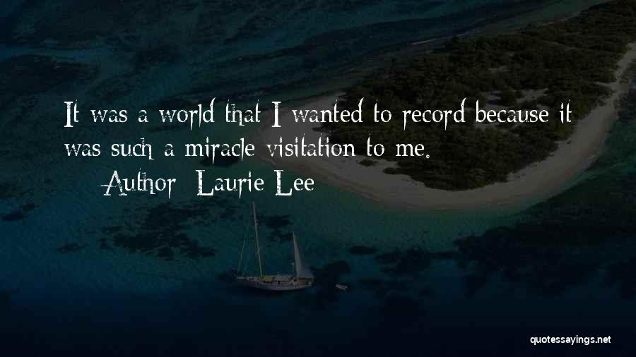 Laurie Lee Quotes 140877