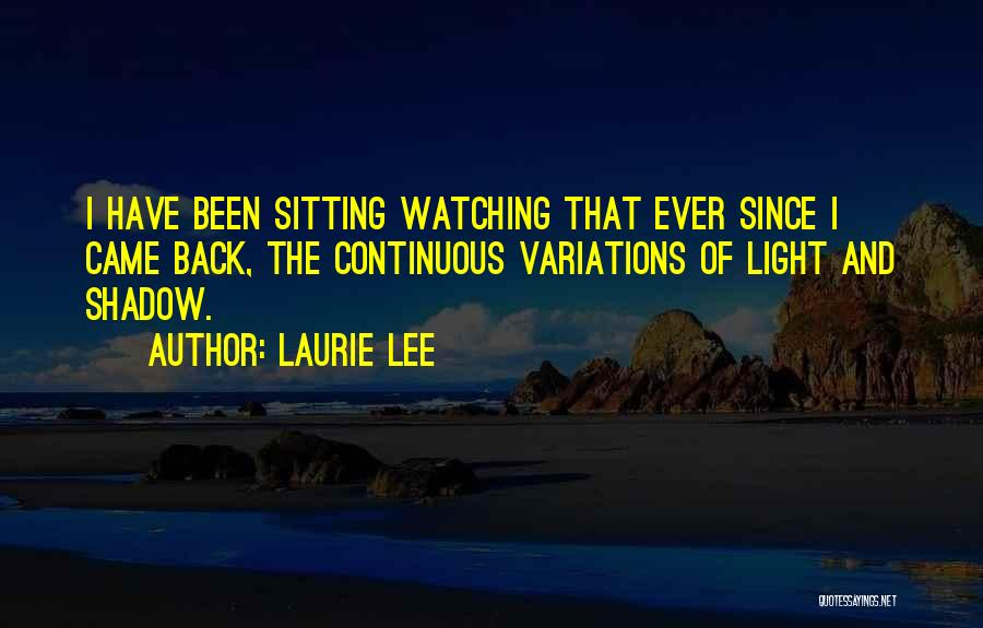 Laurie Lee Quotes 2182208