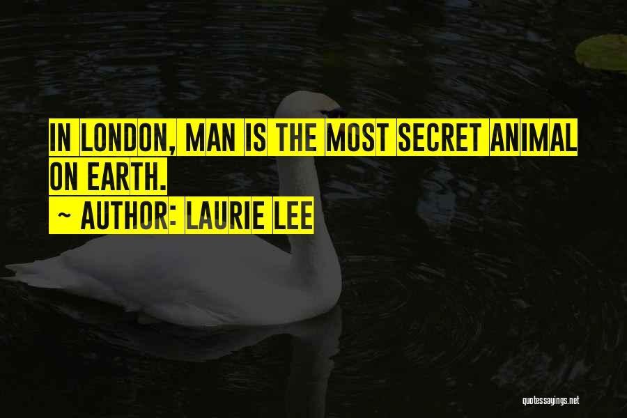 Laurie Lee Quotes 584168
