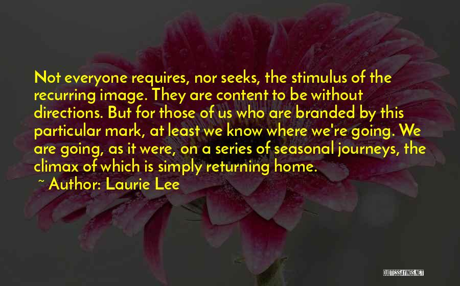 Laurie Lee Quotes 992490