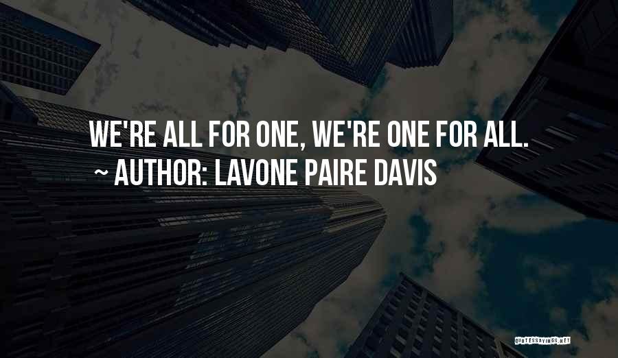 Lavone Paire Davis Quotes 1998947