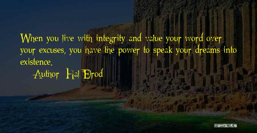 Law Of Power Quotes By Hal Elrod